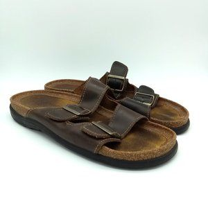 Claybrooke Men's Leather Slip On Sandals 9M